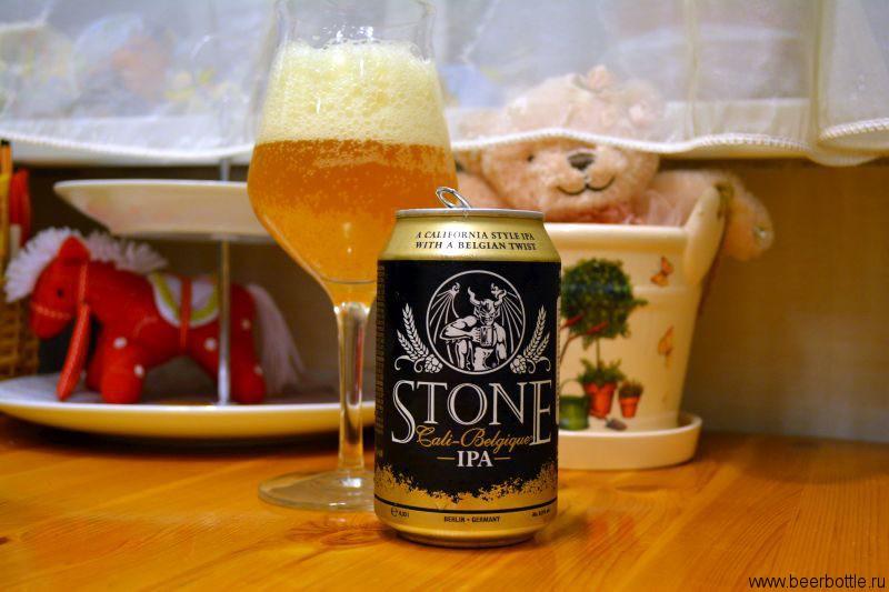 Пиво Stone Cali-Belgique IPA