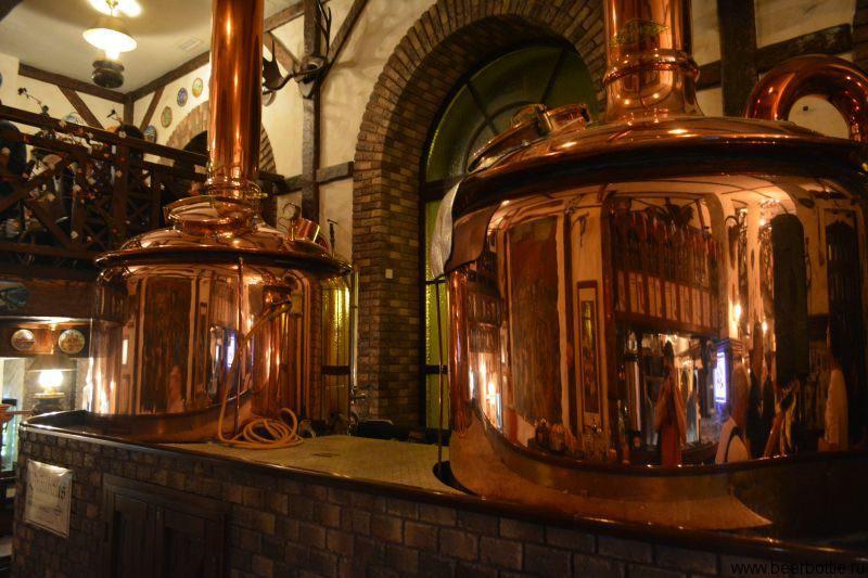 ресторан-пивоварня Бамберг