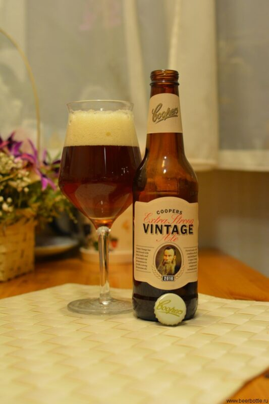 Пиво Coopers Extra Strong Vintage Ale