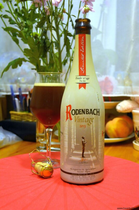 Пиво Rodenbach Vintage 2013 (Barrel No. 149)