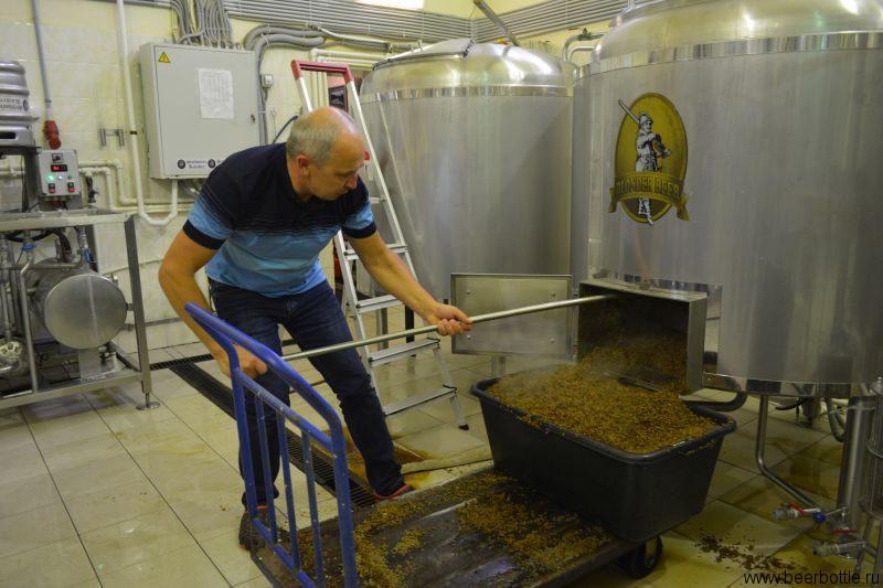 Варка пива на Schwarzkaiser