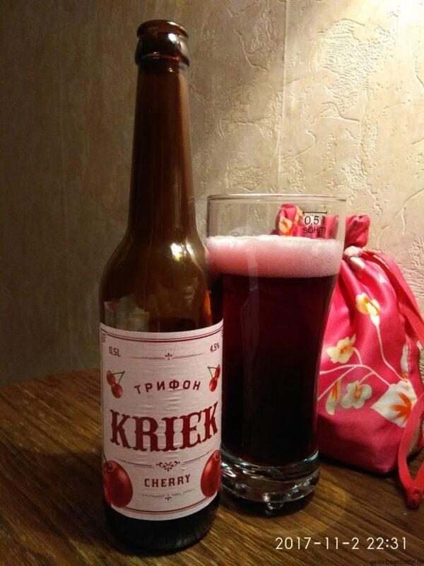 Пиво Трифон Kriek