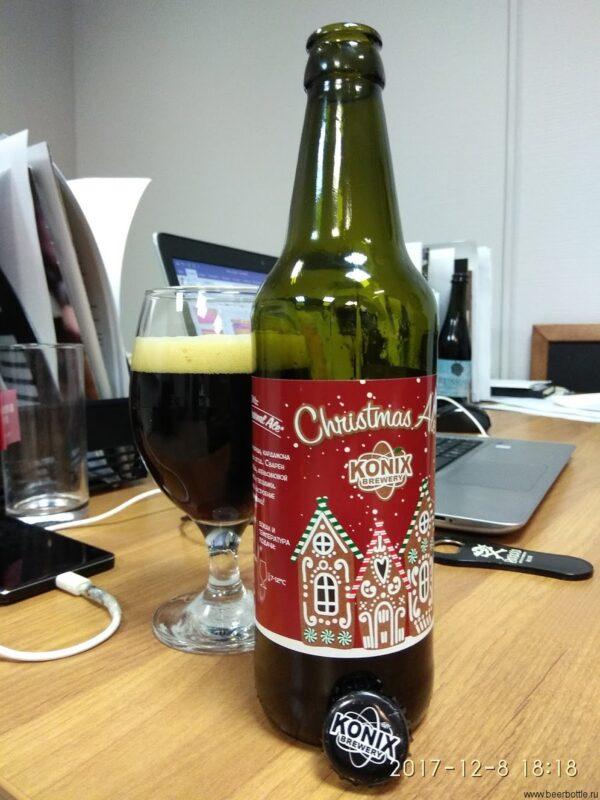 Пиво KONIX Christmas Ale