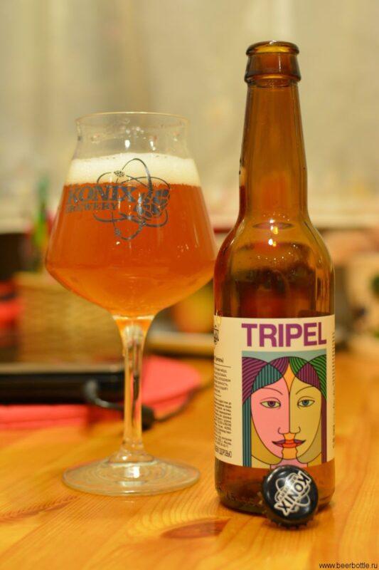 Пиво KONIX Tripel
