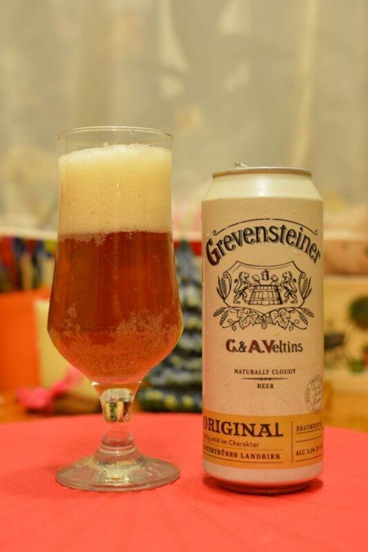 Пиво Grevensteiner Original Naturtrübes