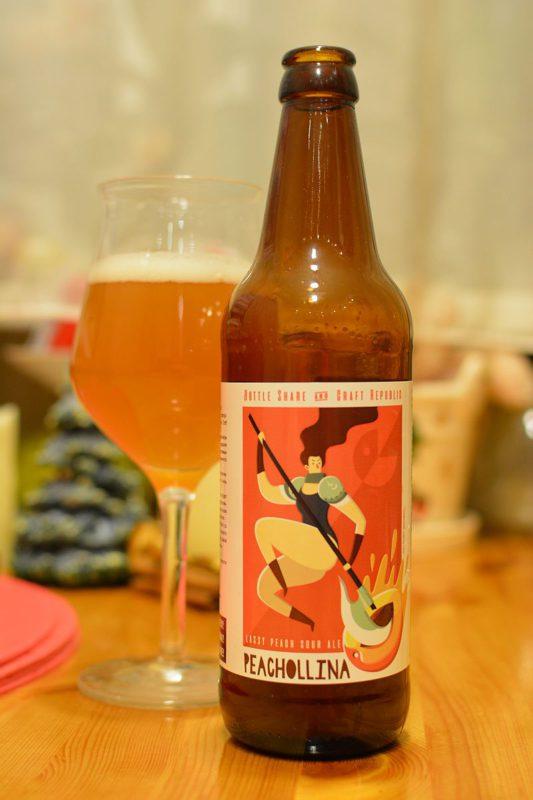Пиво Peachollina