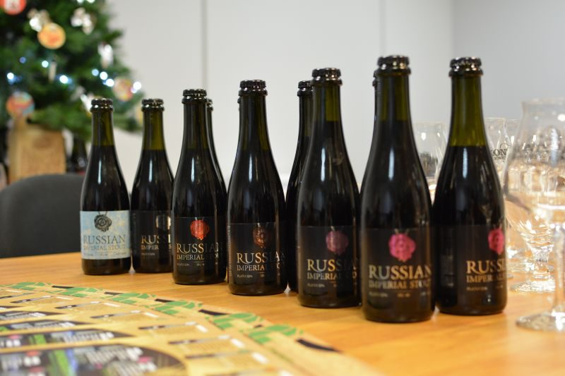 Пиво Russian Imperial Stout от KONIX