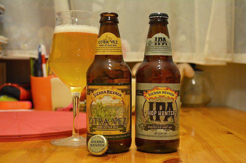 Пиво Sierra Nevada Otra Vez и Hop Hunter
