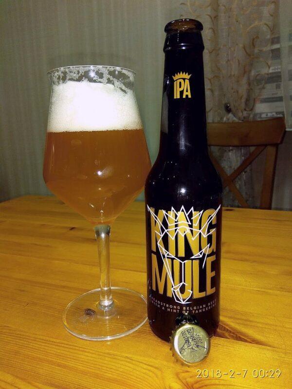 Пиво King Mule IPA