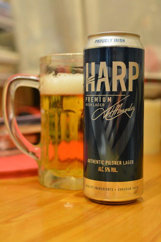 Пиво Harp