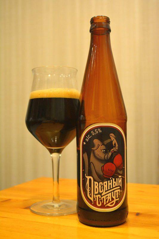 Пиво Овсяный стаут от Малаховской пивоварни