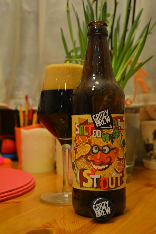 Пиво Salted Peanut Stout