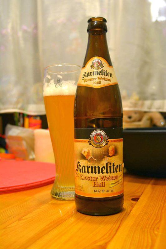 Пиво Karmeliten Weizen Hell