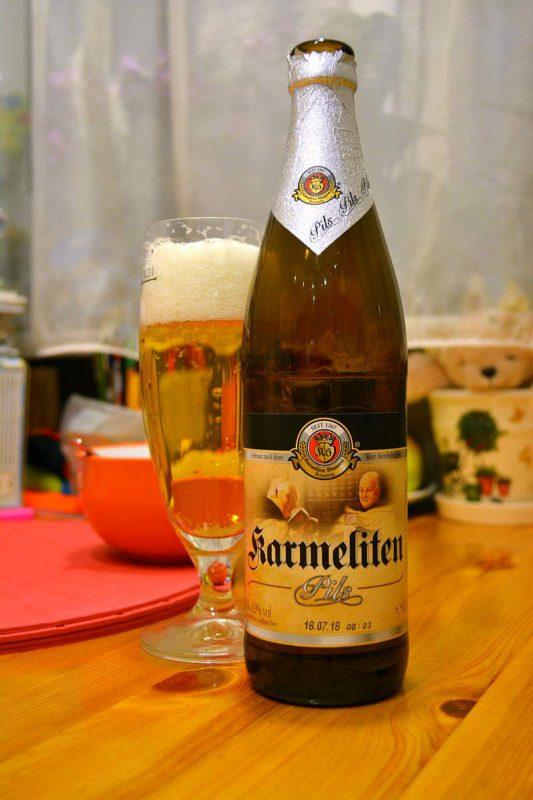 Пиво Karmeliten pils