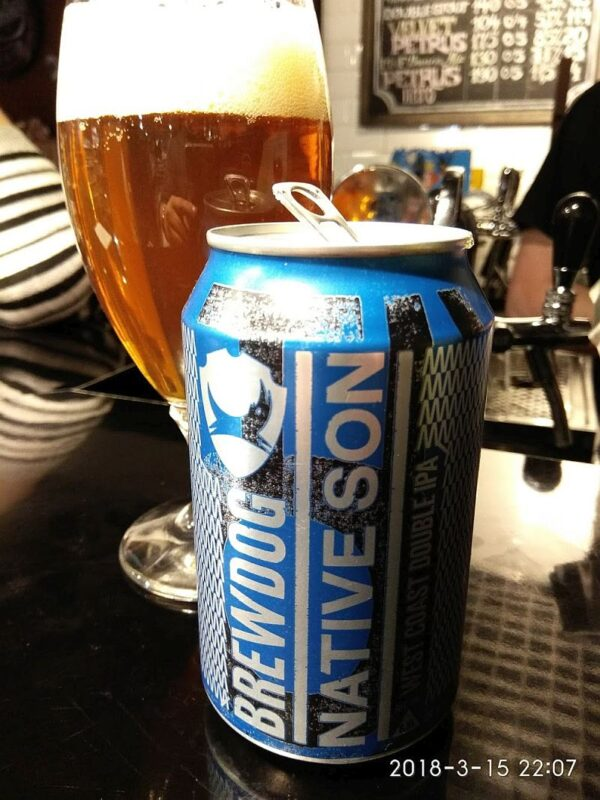 Пиво BrewDog Native Son