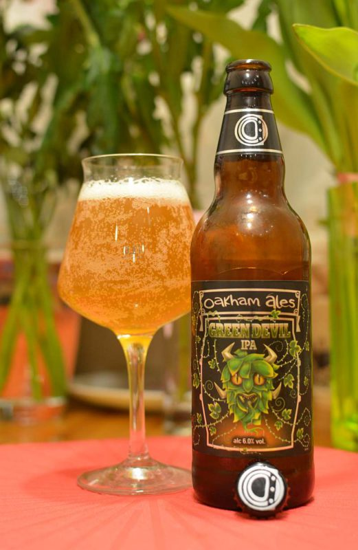 Пиво Green Devil IPA