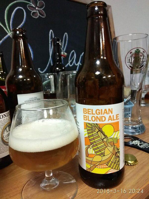 Пиво KONIX Belgian Blond Ale