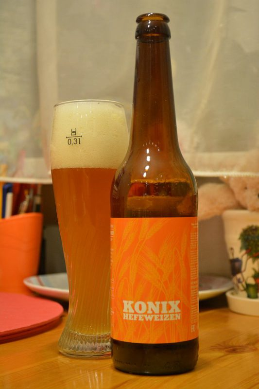 Пиво Konix Hefeweizen