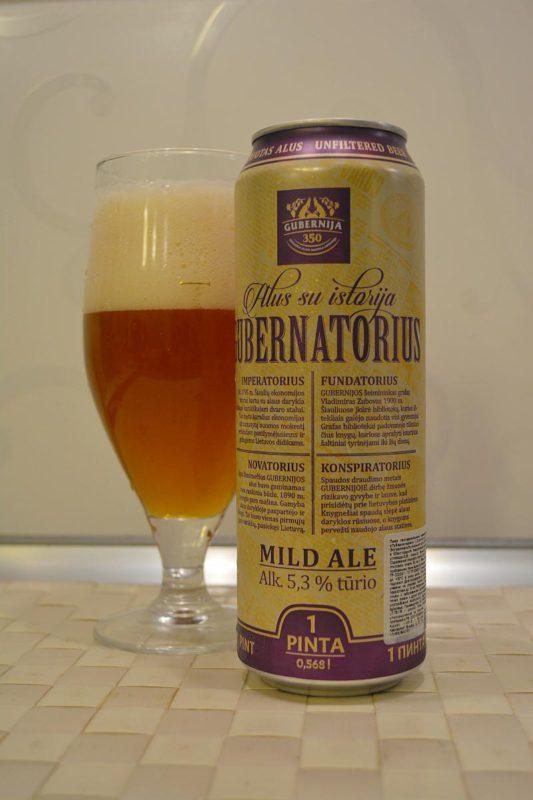 Пиво Gubernatorius