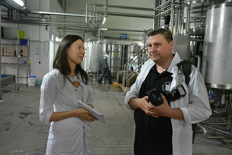 Пивоварня Gletcher. Айнора Мищенко и Павел Егоров