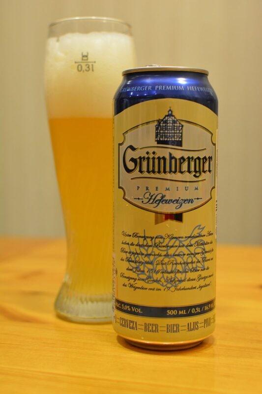 Пиво Grunberger Hefeweizen