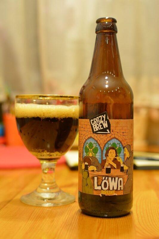 Пиво Lowa brune