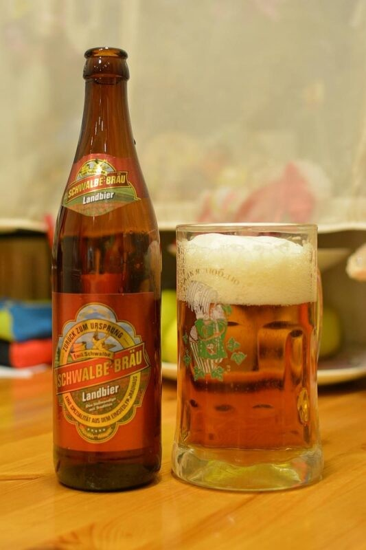 Пиво Schwalbe-Bräu Landbier