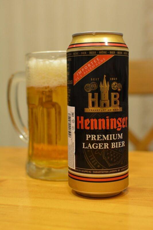 Пиво Henninger Premium Lager