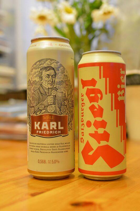 Пиво Karl Friedrich и Stiegl