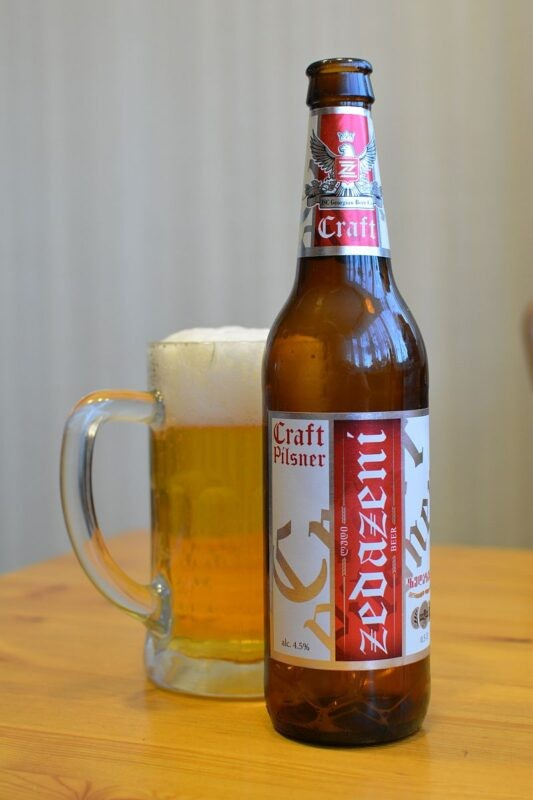 Пиво Zedazeni Craft Pilsner