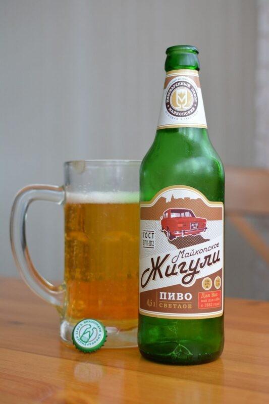 Пиво Майкопское Жигули