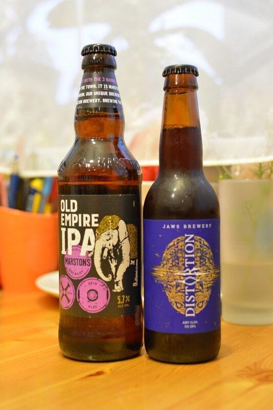 Пиво Old Empire IPA и Distortion