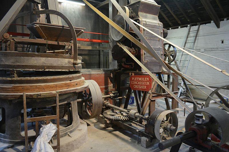 Пивоварня Timmermans. Дробилка