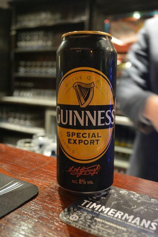 Guinness для Бельгии