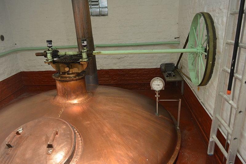 Пивоварня Timmermans. Фильтр чан