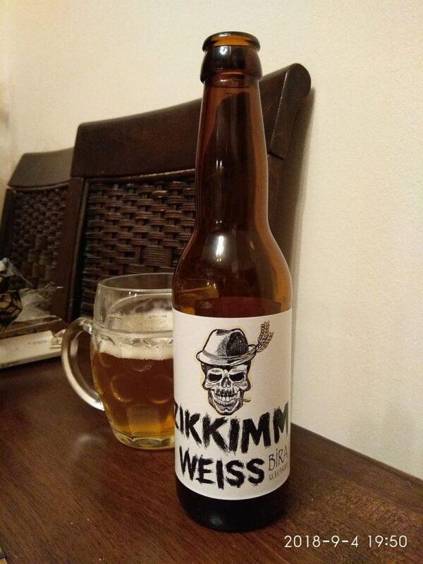 Пиво Zikkimm Weiss