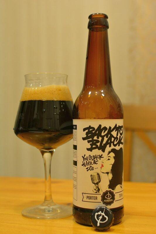 Пиво Back 2 Black