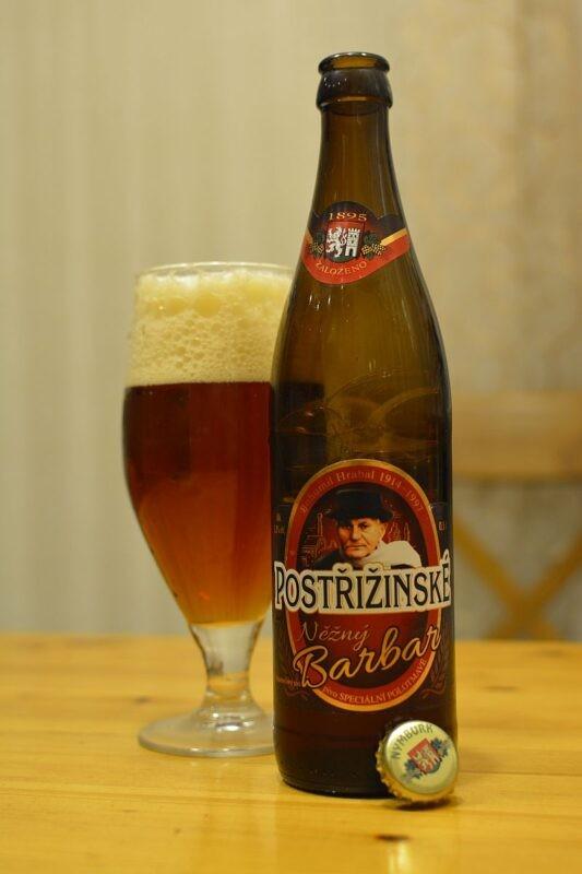Пиво Postřižinské Něžný Barbar