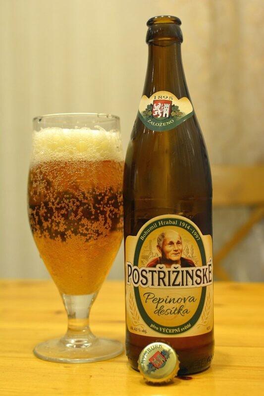 Пиво Postřižinské Pepinova desítka