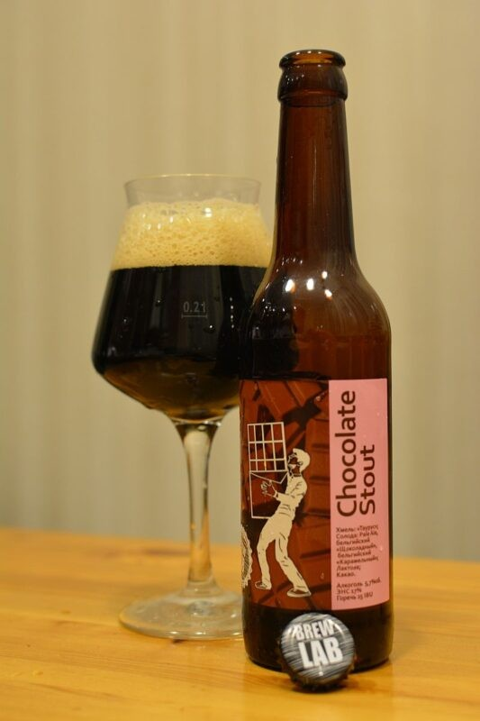 Пиво Brew Lab Chocolate Stout
