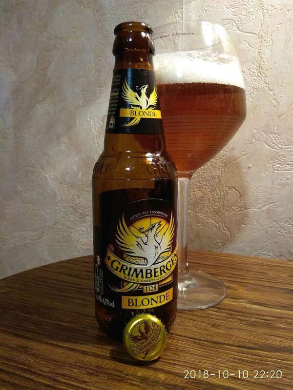 Пиво Grimbergen Blonde