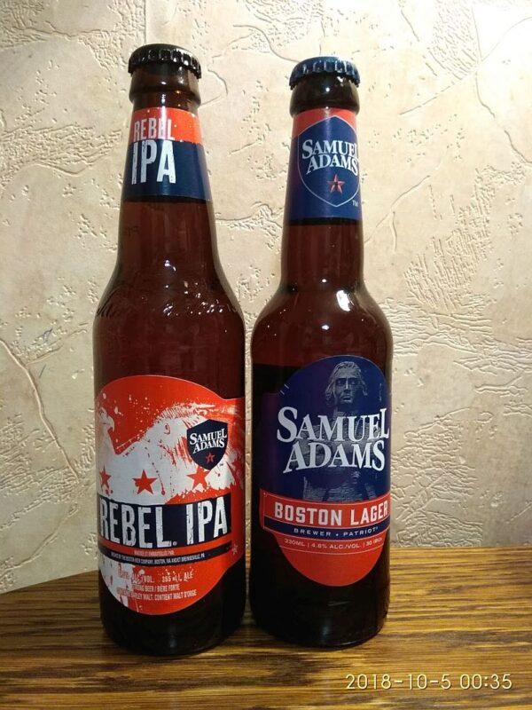 Пиво Samuel Adams