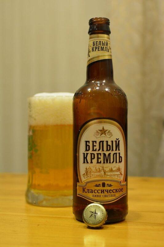 Пиво Белый Кремль