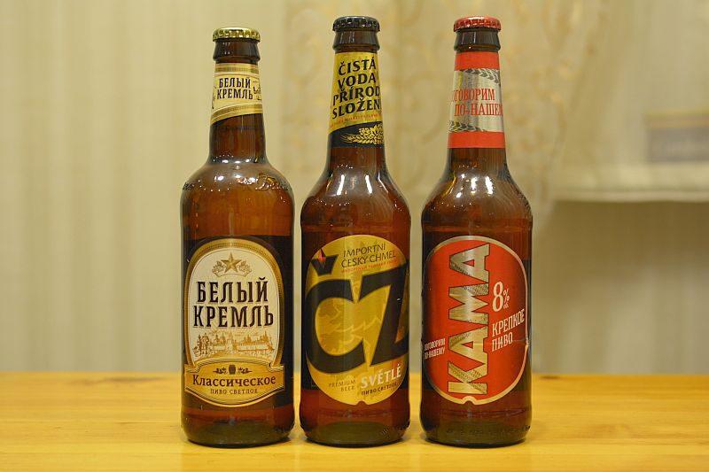 Пиво от Белый Кремль