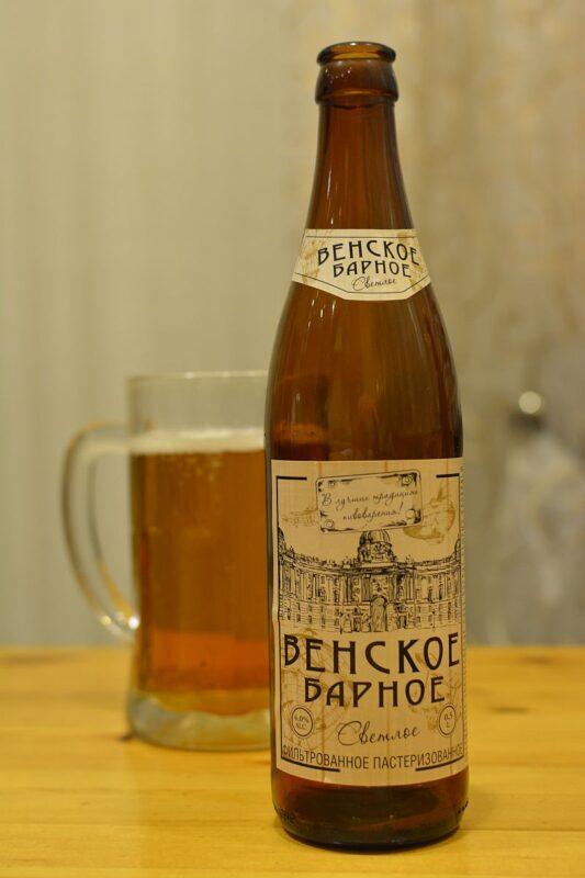 Пиво Венское Барное, г. Ижевск