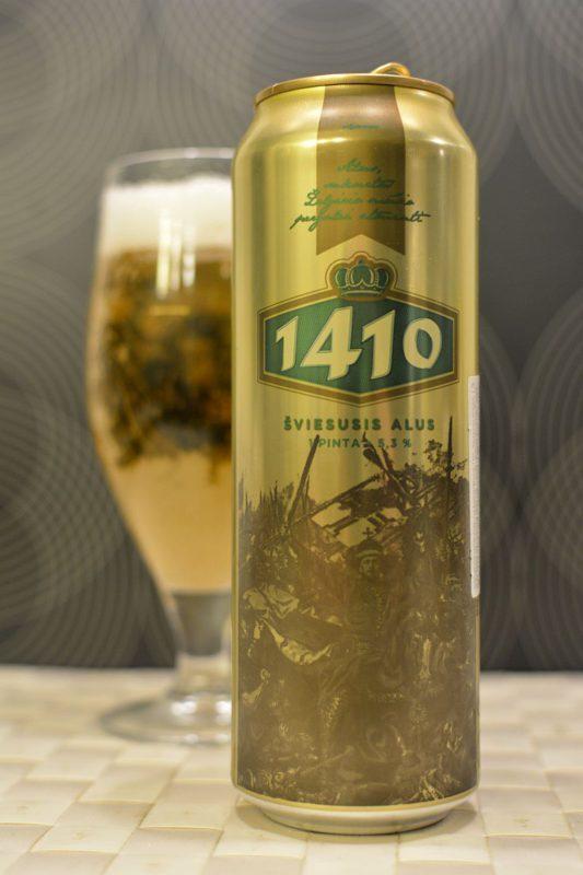 Пиво Volfas Engelman 1410 светлое