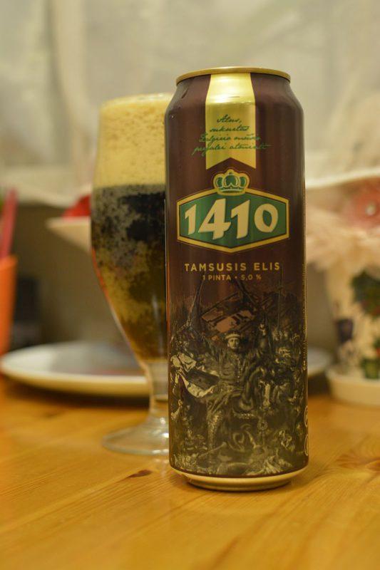 Пиво  1410 Tamsusis Elis