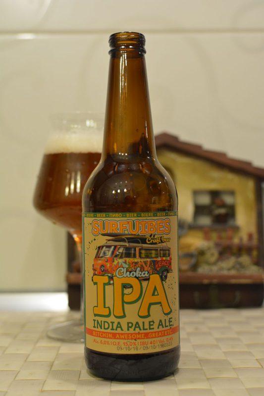 Пиво SURFVIBES Choka IPA