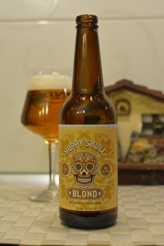Пиво Hoppy Skull blond
