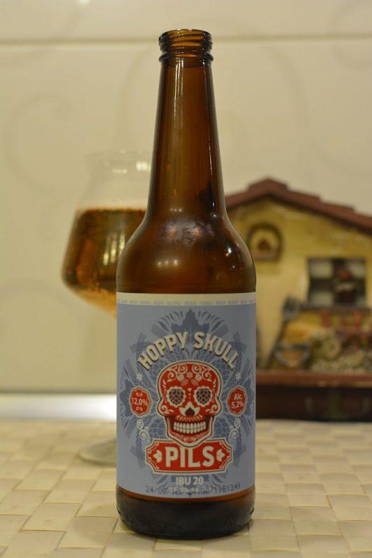 Пиво Hoppy Skull Pils
